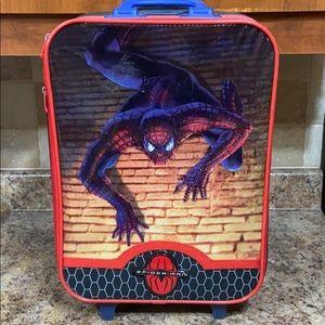Spiderman suitcase